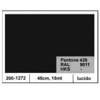 PLASTICA ADESIVA DC-FIX 45CM X 15MT NERO 126 LUCIDO 2001272