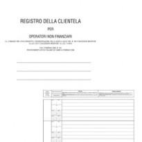 REGISTRO ANTIRICICLAGGIO OPERATORI NON FINANZ. 31X24 96FG E2179 EDIPRO E2179