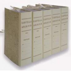 FALDONE GAZZETTA UFFICIALE C/LEGACCI JUTA 31X22CM DORSO 10CM 0202207 - Conf da 25 pz.
