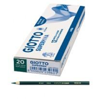 Pastello Giotto Supermina monocolore verde salvia 20 23902000 - Conf da 12 pz.