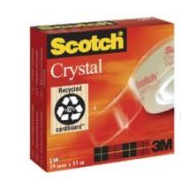 NASTRO ADESIVO Scotch CRYSTAL CLEAR 600 66MTX19MM 30604