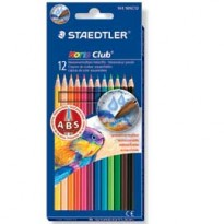 ASTUCCIO 12 MATITE COLORATE 144 AQUARELL NORIS CLUB STAEDTLER 14410NC12