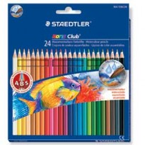 ASTUCCIO 24 MATITE COLORATE 144 AQUARELL NORIS CLUB STAEDTLER 14410NC24