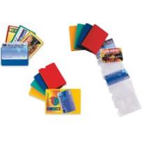 5 Porta Card6 color assortiti in pvc 6 tasche 5,8x8,7cm SEI ROTA 48421690