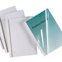 Scatola 50 cartelline termiche Standard A4 40mm 150mic bianco GBC IB370137
