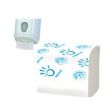 Pacco 224 strappi Carta Igienica interfogliata Papernet 402598 - Conf da 40 pz.
