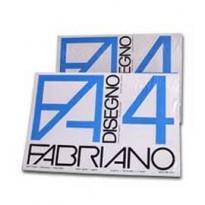 Pacco 25fg Disegno FABRIANO4 70X100cm liscio 220gr 51700597