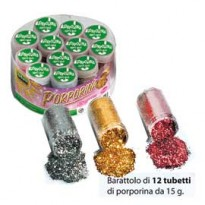 ASSORTIMENTO 12 TUBETTI PORPORINA 15gr ASSORTITI LEBEZ 5157-ASS