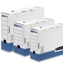 SCATOLA ARCHIVIO A4 DORSO 80MM BANKERS BOX SYSTEM 0026401 - Conf da 10 pz.