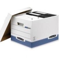SCATOLA ARCHIVIO C/COPERCHIO BANKERS BOX SYSTEM 0026101 - Conf da 10 pz.