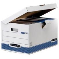 SCATOLA ARCHIVIO C/COPERCHIO A RIBALTA BANKERS BOX SYSTEM 1141501 - Conf da 10 pz.