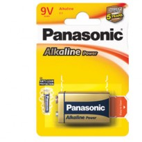 BLISTER PILA TRANSISTOR 9V ALKALINE PANASONIC C500061