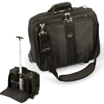 TROLLEY PORTA notebook CONTOUR 17 - nero - KENSINGTON 62348