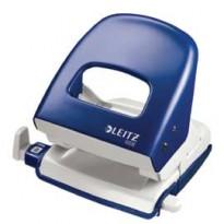 Perforatore 2 fori 5008 WOW blu metal max 30fg LEITZ 50081236