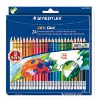 Astuccio 24 matite Noris Club 144 cancellabili colori assortiti STAEDTLER 14450NC24