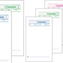 BLOCCO COMANDE 25FOGLI 2 COPIE AUTOCOPIANTE 10X17CM ART 511/2 BM 0100070 - Conf da 10 pz.