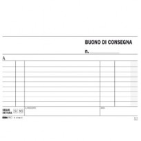 BLOCCO BUONI CONSEGNA 10X17CM 33fg 3 copie AUTORIC. E5199CT E5199CT