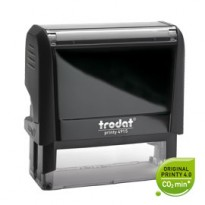 Timbro Original Printy 4.0 4913 58x22mm 6righe autoinch. personalizzabile TRODAT 43072.