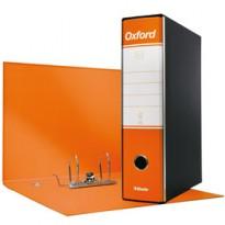 Registratore OXFORD G85 arancio dorso 8cm f.to protocollo ESSELTE 390785200 - Conf da 6 pz.