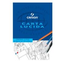 BLOCCO CARTA LUCIDA MANUALE 210x297mm 10FG 80GR CANSON C200005825 - Conf da 25 pz.