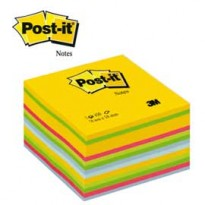 BLOCCO CUBO 450foglietti Post-it 76x76mm 2030-U ULTRACOLOR 7100172383