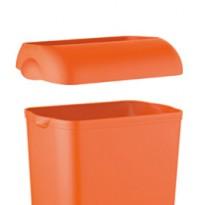 Coperchio per cestino gettacarte 23lt orange Soft Touch A74401AR