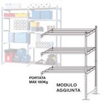 Scaffale RANGECO 5 ripiani 100x35xH200cm - Modulo Aggiunta K605131