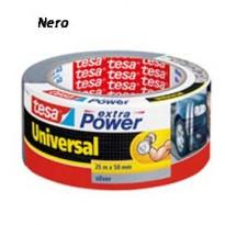 NASTRO ADESIVO 25mtx50mm NERO tesa Extra Power Universal 56388-00001-07
