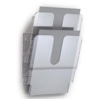 DISPLAY DA MURO CON 2 TASCHE A4 TRASPARENTE FLEXIPLUS DURABLE 1709008400