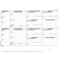 BLOCCO CARICO/SCARICO RIFIUTI NON DETENTORI (Mod. B) 100PAG. 22,5x29,7cm E2871 E2871