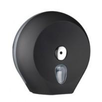 Dispenser carta igienica Midi Jumbo 23cm nero Soft Touch A75610NE