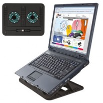 SUPPORTO NOTEBOOK CYCLONE COOLING STAND TRUST 17866