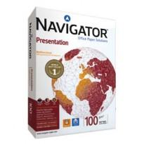 CARTA NAVIGATOR presentation A4 100GR 500FG 210X297MM 02 A4 100 NAV - Conf da 5 pz.