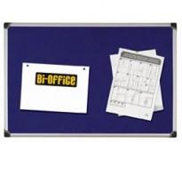 PANNELLO IN TESSUTO 90X120CM BLU FELT BOARD Bi-Office FA0543178