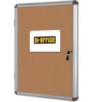 BACHECA PER INTERNI FONDO SUGHERO 9XA4 VERTICALE Bi-Office VT630101150