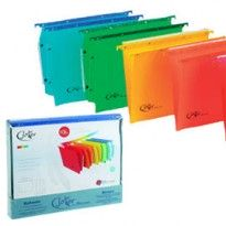 BOX 10 CARTELLE SOSPESE CASSETTO 33/V COLORI ASS. JOKER BERTESI 400/330 Link-J7