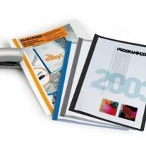 CARTELLINA A4 Durabind AZZURRO per RILEGATURA A PUNTI 2250 DURABLE 2250-06 - Conf da 25 pz.