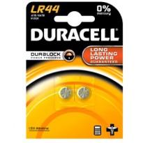 BLISTER 2 PILE ALCALINE DURACELL 1,5V 150mAh (LR44) LR44/2