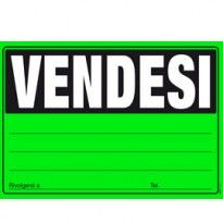 CARTELLO VENDESI 24x33cm colori ass giallo-verde-arancio-fuxia E9202 EDIPRO E9202 - Conf da 20 pz.