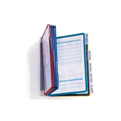 LEGGIO DA MURO VARIO WALL 10 - 10 pannelli ASSORT. DURABLE 5567-00