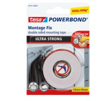 NASTRO BIADESIVO 19mmx1,5mt POWERBOND ULTRA STRONG Tesa 55791-00002-01