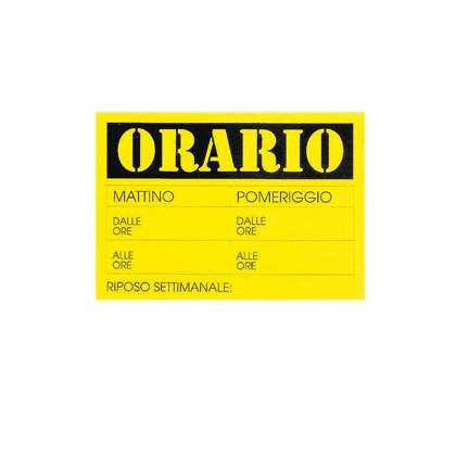 CARTELLO IN CARTONCINO  23x32cm CWR 315/13 315/13 - Conf da 10 pz.