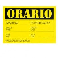 CARTELLO IN CARTONCINO  23x32cm CWR 315/13 315/13 - Conf da 10 pz.