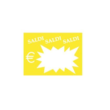 50 SEGNAPREZZI Flash Saldi 8x11cm colori ass. CWR 06043 06043