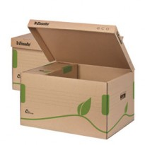 Scatola CONTAINER ECOBOX 340x439x259mm apertura superiore ESSELTE 623918 - Conf da 10 pz.