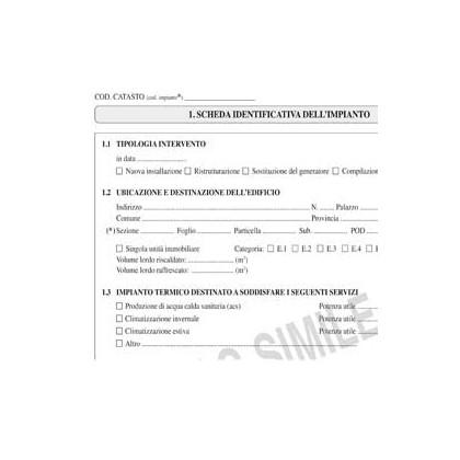 LIBRETTO IMPIANTO CLIMATIZZAZIONE 297x210mm 48pag E2621 EDIPRO E2621