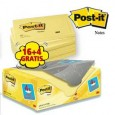 VALUE PACK 16+4 BLOCCO 100fg Post-it 76x127mm 72GR 655CY-VP20 7100172334