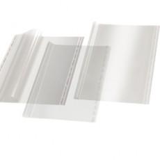 COPRILIBRO GIGANTE LISCIO NEUTRO TRASPARENTE 57x36cm C/ADESIVO RI.PLAST 30444011 - Conf da 25 pz.