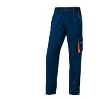 PANTALONE da LAVORO M6PAN blu/arancio Tg. L PANOSTYLE M6PANBMGT