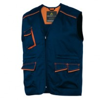 GILET da LAVORO M6GIL blu/arancio Tg. XL PANOSTYLE M6GILBMXG